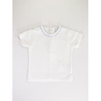 Fehér-kék póló
