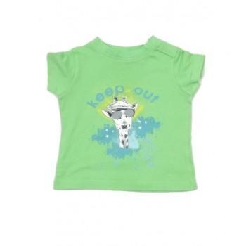 Zöld zsiráfos póló