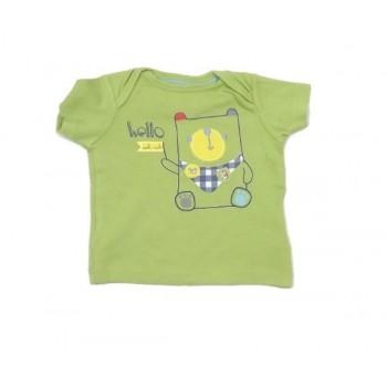 Zöld macis póló