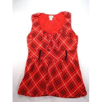 Piros kockás blúz (152)