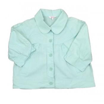 Mentazöld vászon kabátka(164)