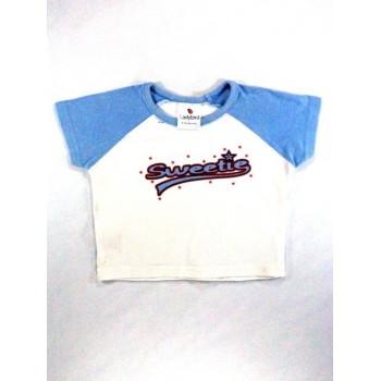 Sweetie kék-fehér póló