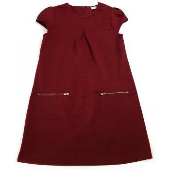 Divatos bordó ruha (134)
