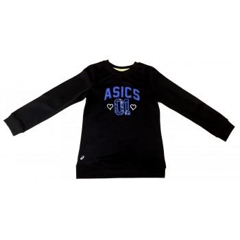 Fekete Asics sportos pulcsi (128)