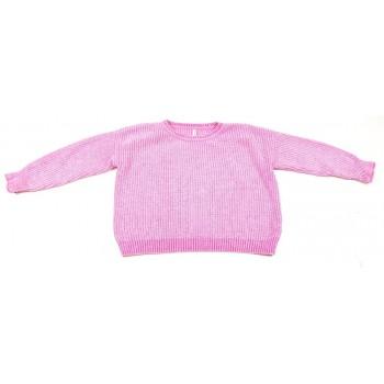 Pink zseníliapulóver (128)