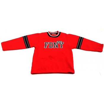 """Feliratos piros pulóver (134)"""