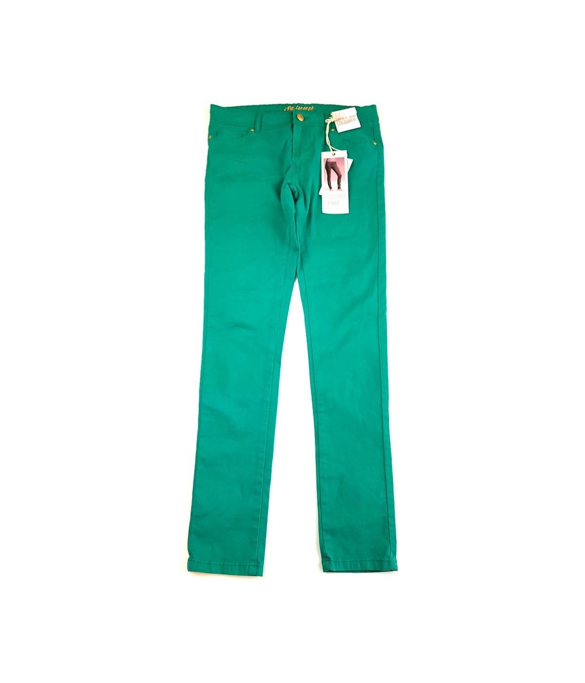 98b84ca8f6 Zöld skinny nadrág (164-170). Loading zoom