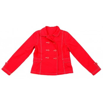 Piros átmeneti kabát (134)