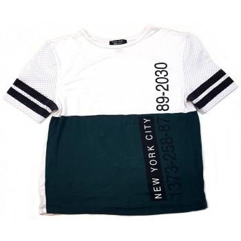 Zöld-fehér sportfelső (134)