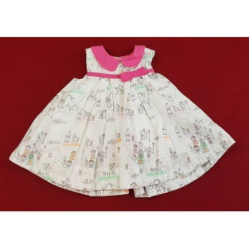 Házikós fehér ruhácska (62)