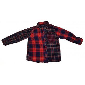 Piros-kék kockás ing (92)