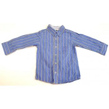 Csíkos világoskék ing (104)
