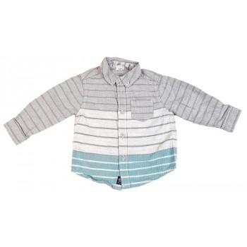 Halszálkamintás szürke ing (74)