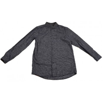 Tyúklábmintás szürke ing (140)