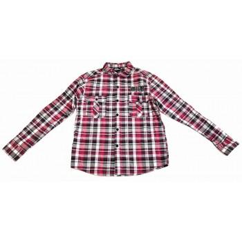 Lila-szürke kockás ing (152)