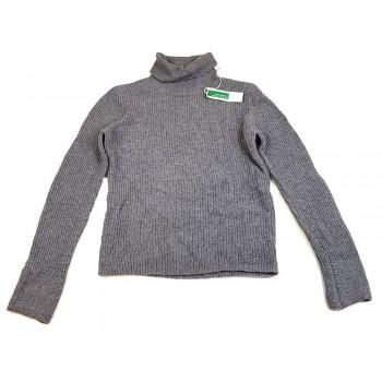Garbónyakú szürke pulóver (164)
