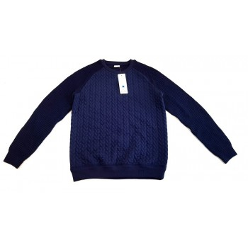 Steppelt sötétkék pulóver (158)