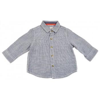 Aprókockás kék ing (74)