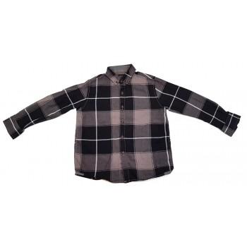 Fekete-szürke kockás ing (110)