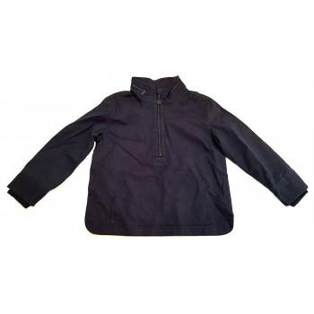Sötétkék belebújós kabát (140)