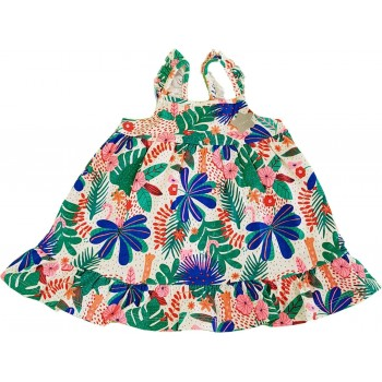 Tarka virágos nyári ruha (68)
