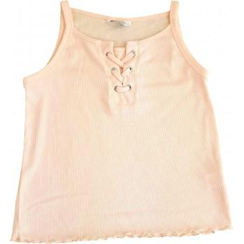 Fűzős rózsaszín trikó (152)